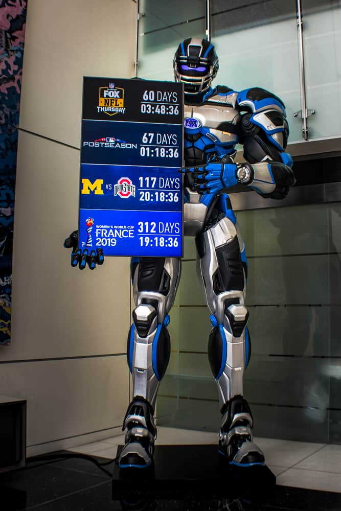 Fox Body Parts >> FOX SPORTS | CLEATUS: 14FT TALL ROBOT | THINGERGY INC.